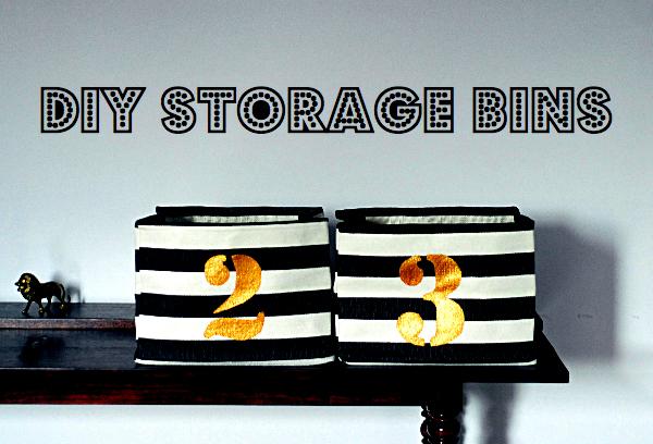 numbered storage bins