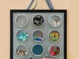 magnetic embellishment organizer