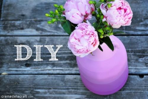 Cool Diy Striped Flower Vase
