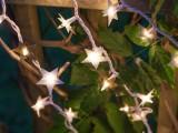 paper foil starry lights