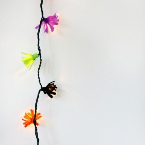 fringe lights for parties (via shelterness)