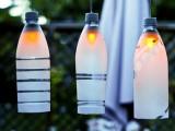 plastic bottles lights