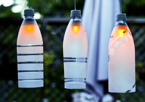 plastic bottles lights (via easypapercrafts)