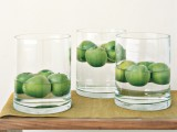 floating apples centerpiece
