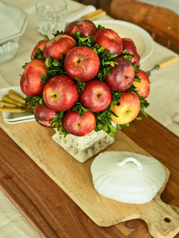 apple bouquet centerpiece
