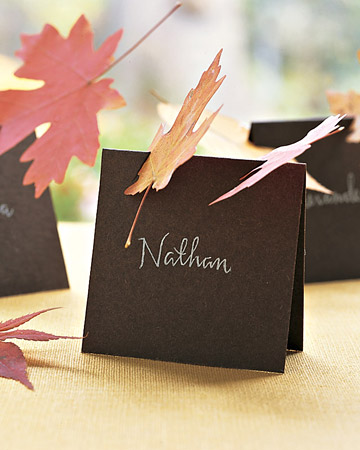 Cool Diy Thanksgiving Place Cards
