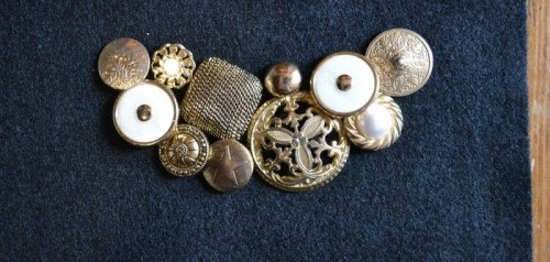 Cool Diy Vintage Buttons Necklace