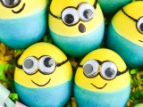 dyed minion eggs
