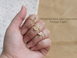 Cool Diy Wire Rings For Middle Phalanges