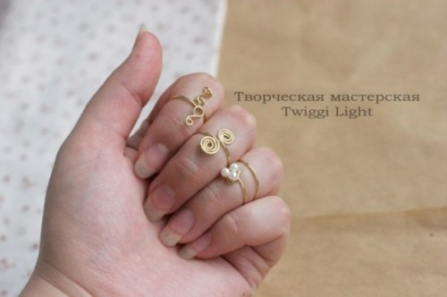 Cute DIY Wire Rings For Middle Phalanges Shelterness - Cute diy wire rings for middle phalanges