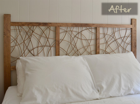 12 Cool DIY Wooden Headboards