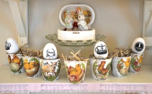 vintage Easter peat pots (via wingsofwhimsy)