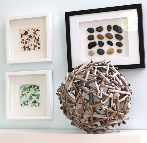 driftwood orb for decor