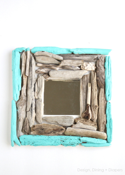 driftwood wall mirror (via designdininganddiapers)