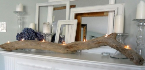driftwood candle holder (via shelterness)
