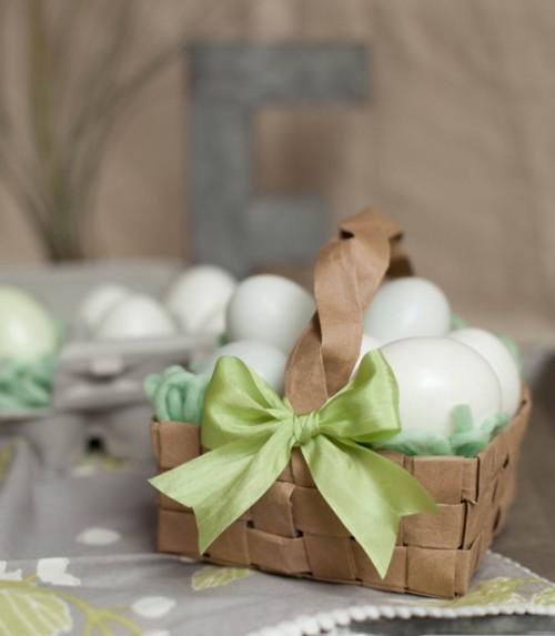 grocery bag Easter basket