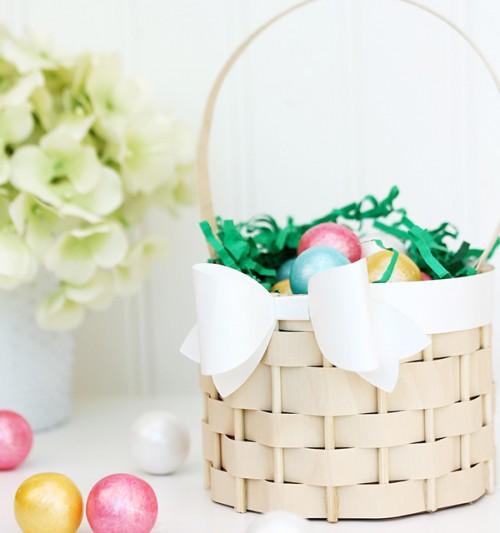 birch paper faux woven basket (via damasklove)