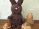 diy calorie free chocolate bunny