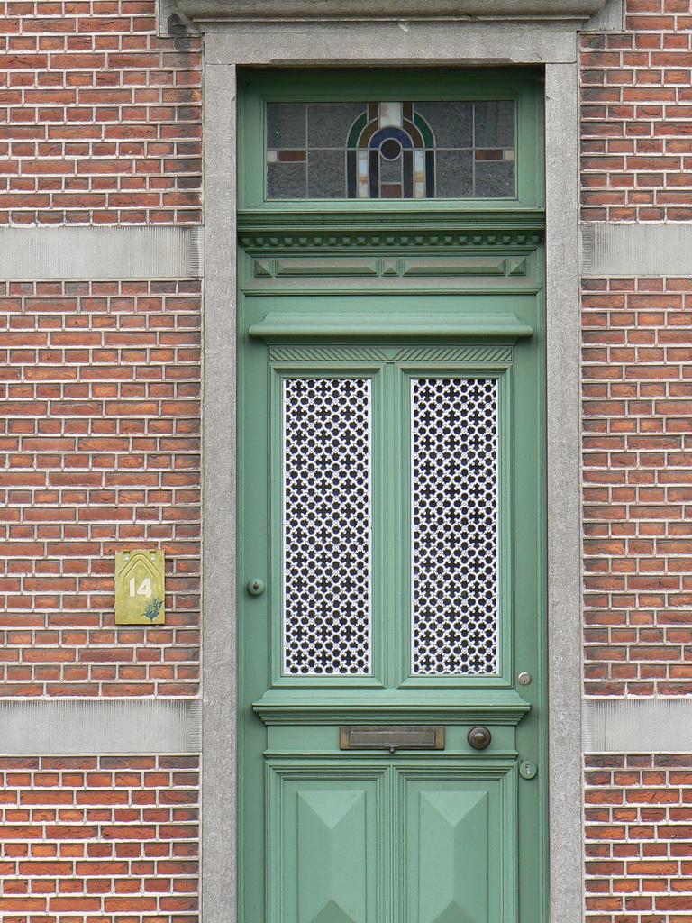 20 Cool Front Door Designs » Photo 15
