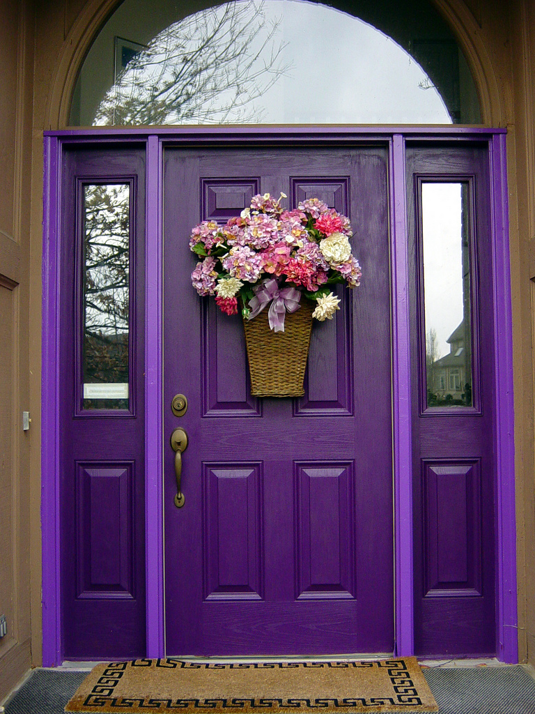Purple Front Door Paint Colors 768 x 1024 · 580 kB · jpeg