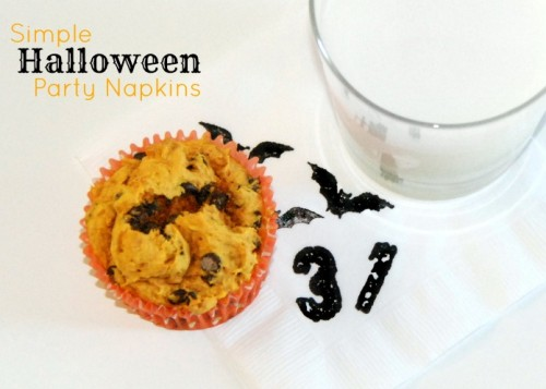10 Cool DIY Halloween Napkins And Napkin Rings