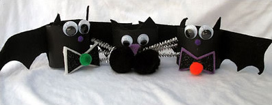 cool bat napkin rings