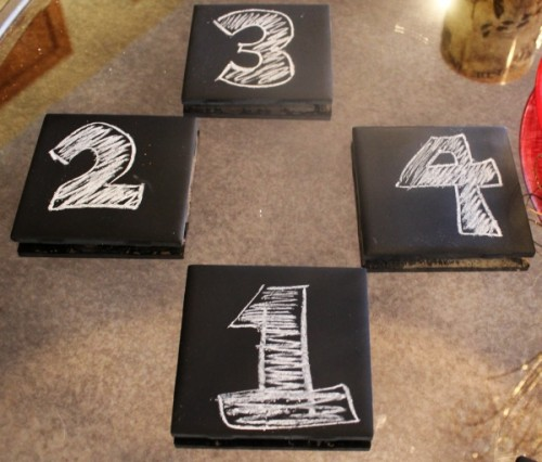 chalkboard coasters and tray (via themommyhoodproject)