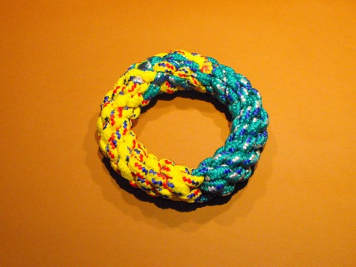 ring dog toy (via instructables)
