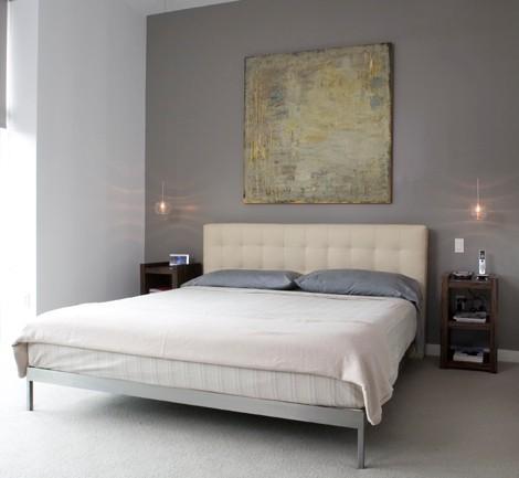 37 cool hanging bedside lamps shelterness. Black Bedroom Furniture Sets. Home Design Ideas