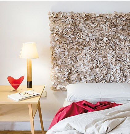 Popular Bed without headboard would look awesome by some art piece