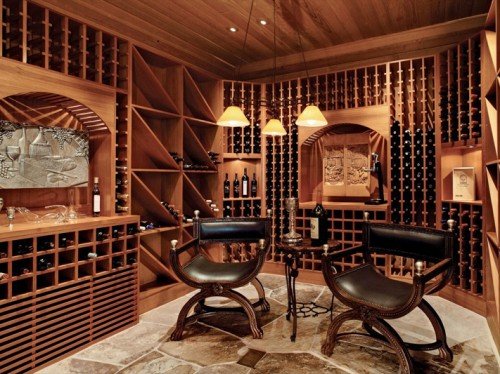 5 home wine cellar designs you can only dream of shelterness for Home wine cellar design ideas