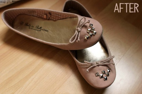 studded flats (via pointlessprettythings)