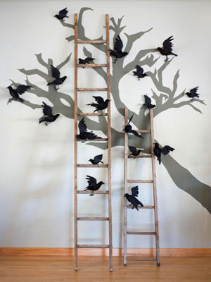 25 Spooky and Creepy Indoor Halloween Decorating Ideas - Scary Indoor Halloween Decorations