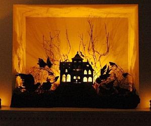 cool indoor halloween decorations - Indoor Halloween Decorating Ideas