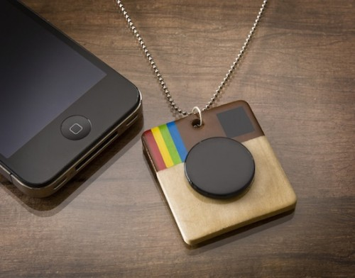 instagram necklace (via modpodgerocksblog)
