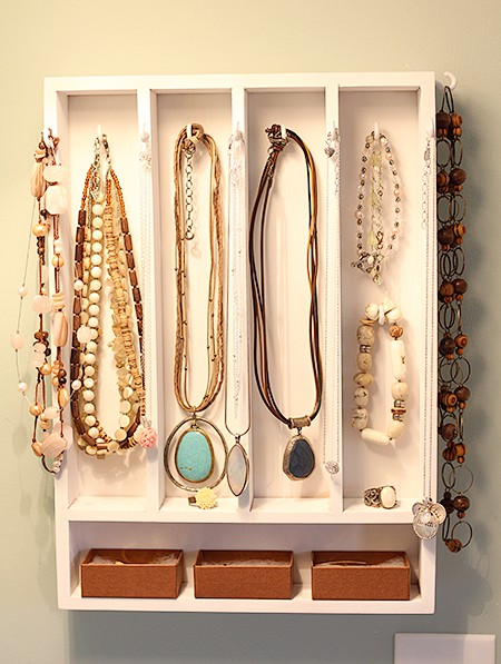 50 cool jewelry storage ideas shelterness - Ideas for storing jewellery ...