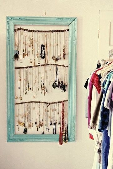 Necklace Earring Storage Images 67 Cool Jewelry Storage Ideas Shelterness  Jpg