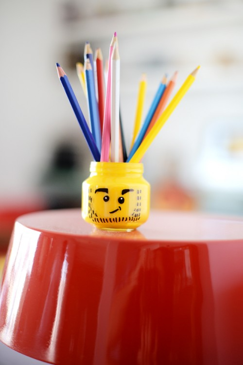 Cool Kids' DIY Pencil Holder