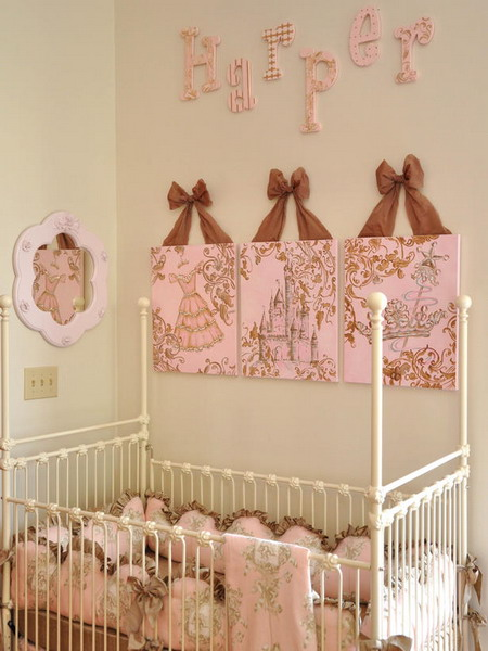 DIY stuff is a perfect way to decorate a nursery with a personal touch.