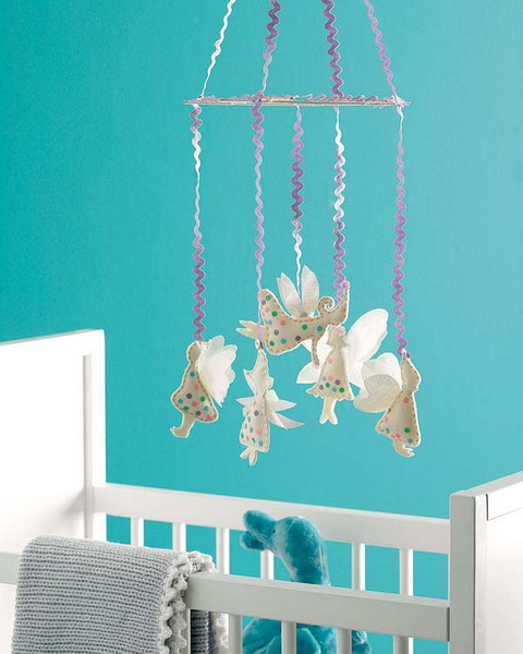 Baby mobile is a must have item for a nursery decor.