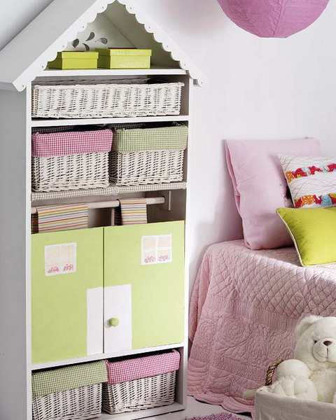 Awesome A Super Simple DIY Hack To Turn A Simple Shelving Unit Into A Cute House.