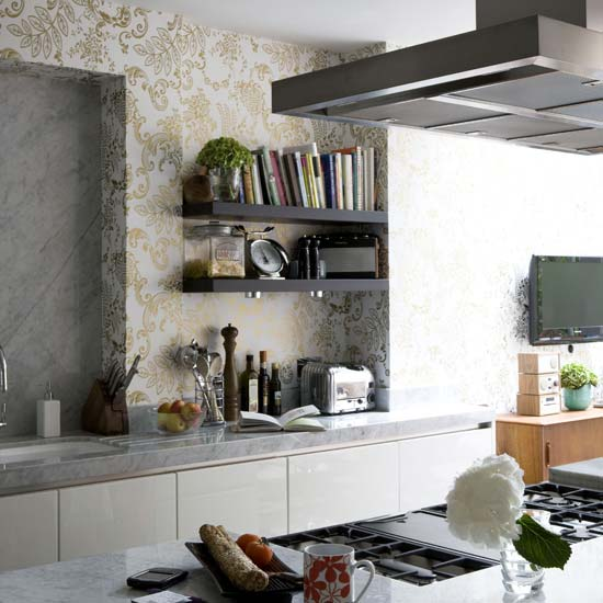 35 Cool And Creative Kitchen Backsplashes u00bb Photo 33