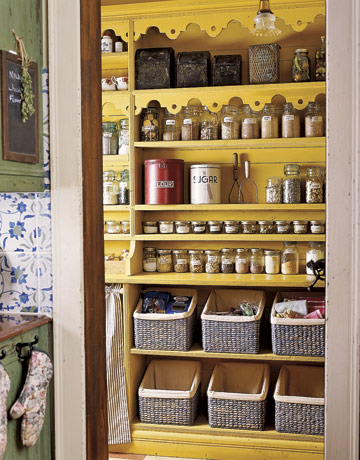 Cool Kitchen Pantry Design Ideas · Colorful Solution To Store Your Food  Supplies