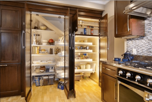 Nice Cool Kitchen Pantry Design Ideas
