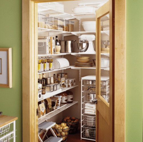 Effective Pantry Shelving Designs For Well Organized: 47 Cool Kitchen Pantry Design Ideas