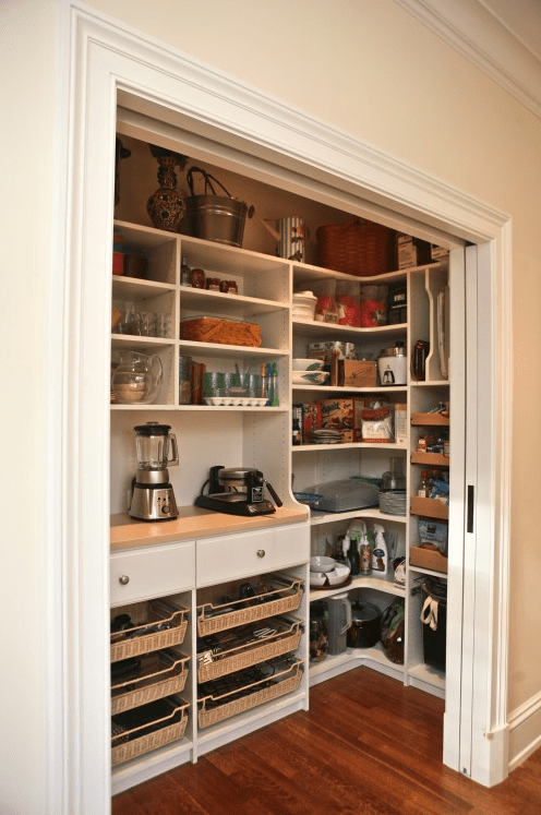 cool kitchen pantry design ideas - Closet Pantry Design Ideas