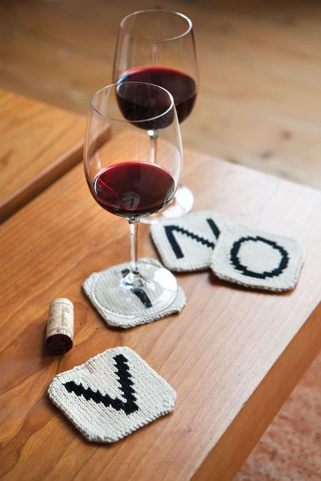 knit letter tile coasters (via https:)