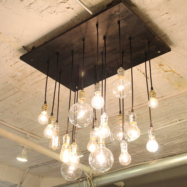 Cool Lamp That Consist Of A Ligthbulbs Shelterness