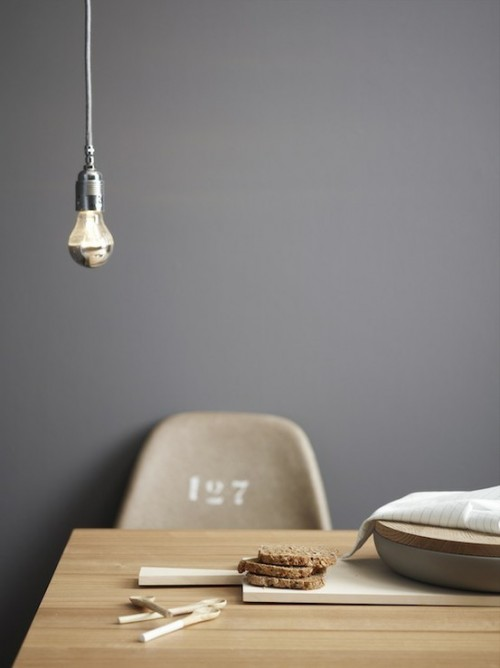 Cool Lamp That Consist Of A Ligthbulbs