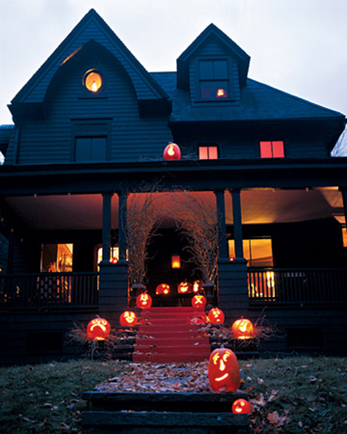 picture of cool outdoor halloween decorations. Black Bedroom Furniture Sets. Home Design Ideas